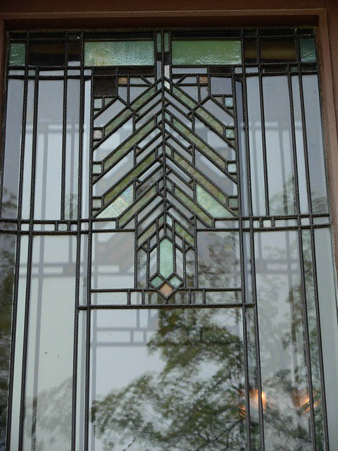 tree of life stained glass at Darwin Martin House | Flickr ...