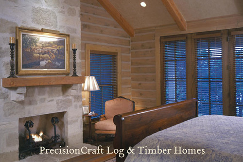 Hybrid Home Of Log And Timber Frame Home On A Lake In
