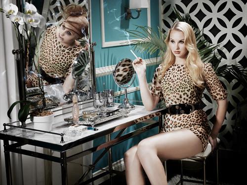 America's Next Top Model Smoking Photo Shoot