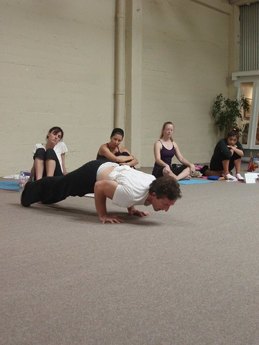 Touchdown Todd Taylor shows how to do a Chaturanga Dandasana push-up