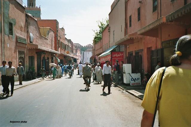 A Walk through Marrakesh