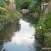 Kali Jenes yang berwarna. : Colored water in the Jenes River. Photo by Wahyuadi