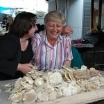 Mushrooms at Telavi Market - Kakheti, Georgia