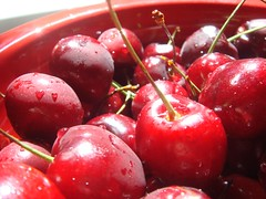 Sunlit Cherries