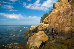 Red Granite Cliffs