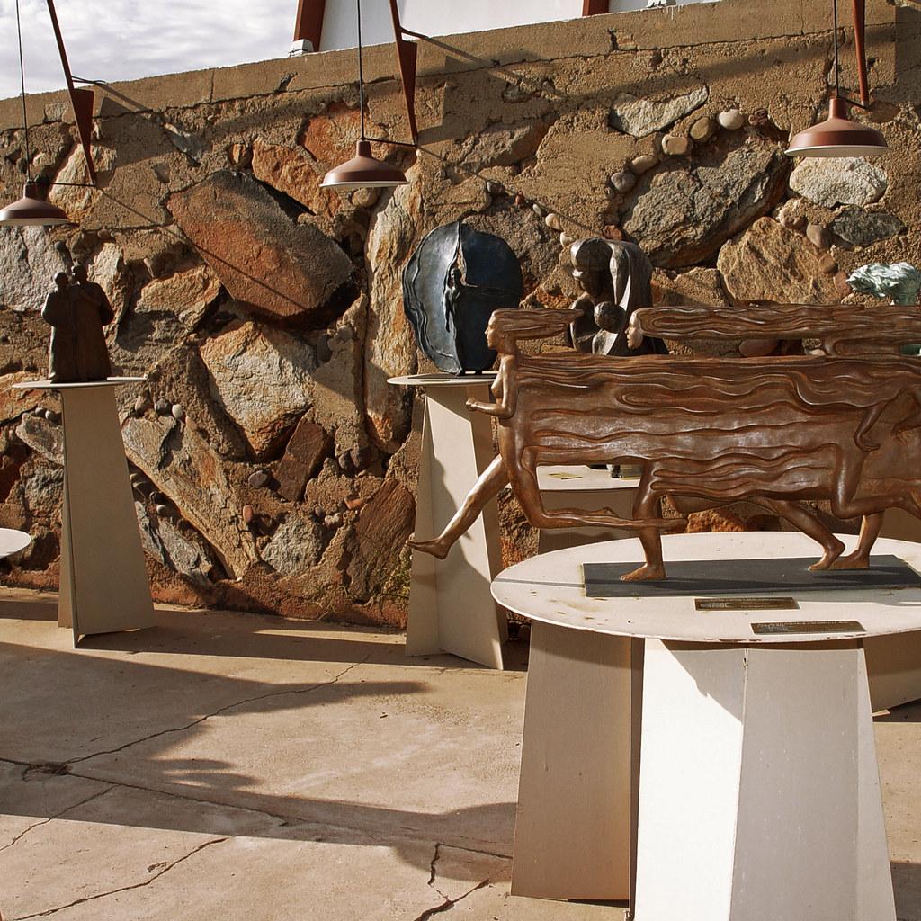 Taliesin West Sculpture Garden