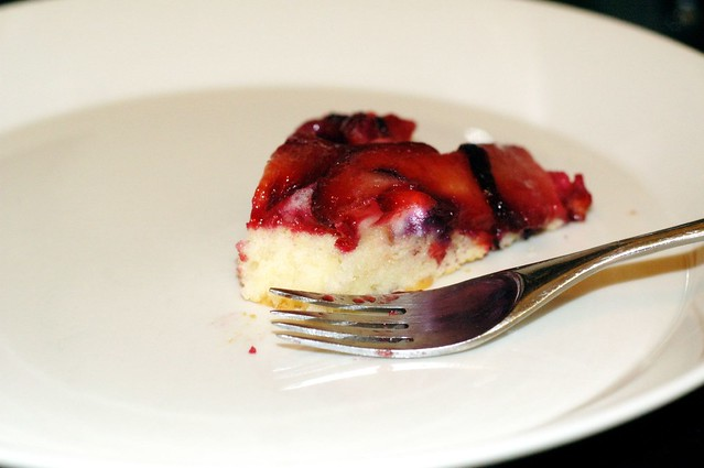 plum blueberry upside-down cake | Flickr - Photo Sharing!
