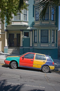 Street Parking: Harlequin Golf