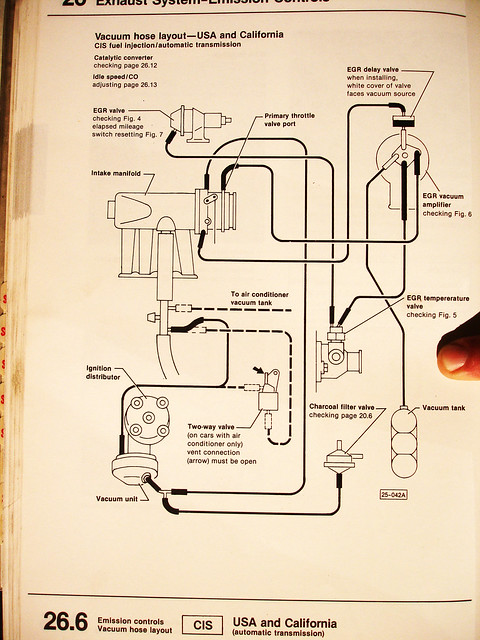 1979 Vw Rabbit Vaccum Hose Diagram