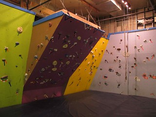 Climbing Wall Completed!