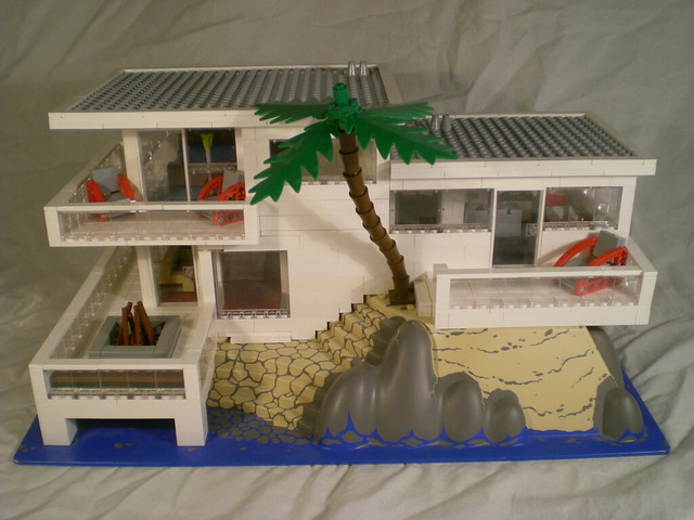 Modern houses great lego architecture a gallery on flickr - Lego architecture maison blanche ...