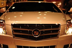 automobile, automotive exterior, exhibition, cadillac, vehicle, automotive design, cadillac cts, grille, bumper, land vehicle, luxury vehicle, motor vehicle,