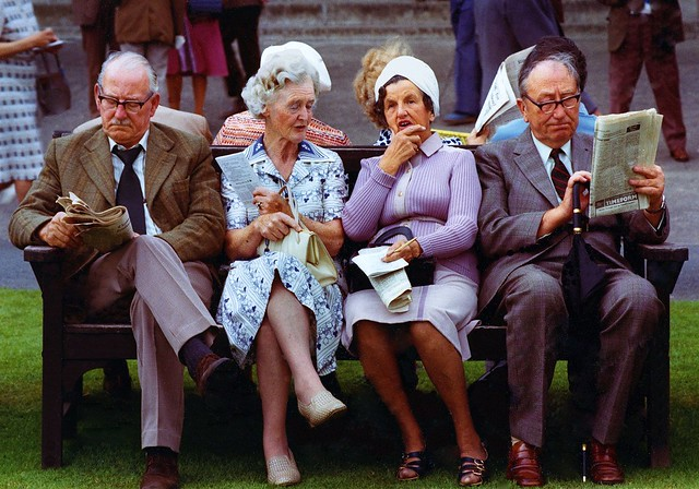 Horserace Experts Ripon 1977 - The Decisive Moment in Street Photography