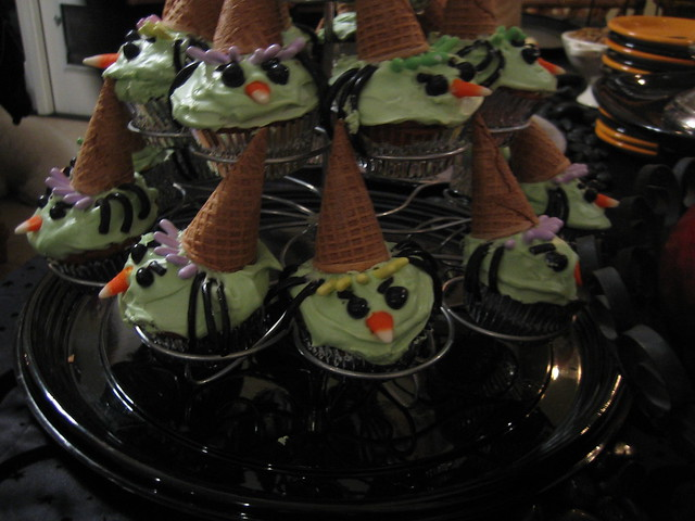Witch Cupcakes Halloween