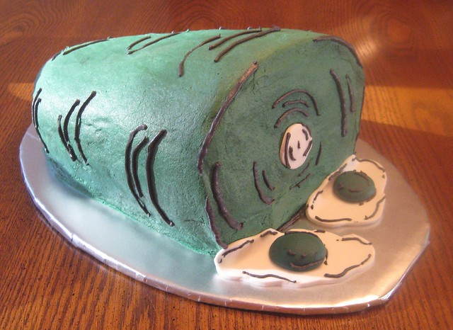 Green Eggs and Ham Cake | Flickr - Photo Sharing!