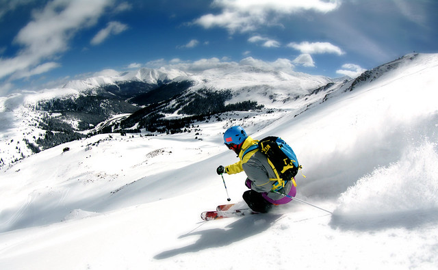 Chair 9 At Loveland Ski Area Takes Skiers And Riders To An