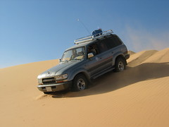 Land Cruisers can get down anything!