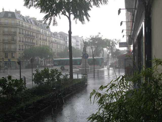 rain in paris flickr photo sharing. Black Bedroom Furniture Sets. Home Design Ideas