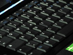 musical keyboard(0.0), electronic keyboard(0.0), computer hardware(0.0), laptop replacement keyboard(1.0), electronic device(1.0), multimedia(1.0), close-up(1.0), computer keyboard(1.0), laptop(1.0),