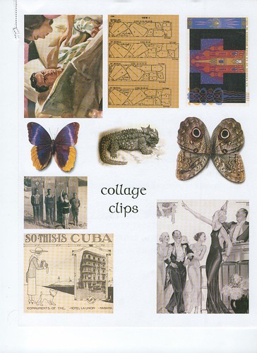 Somerset Studios - Stampington & Company Collage Clips
