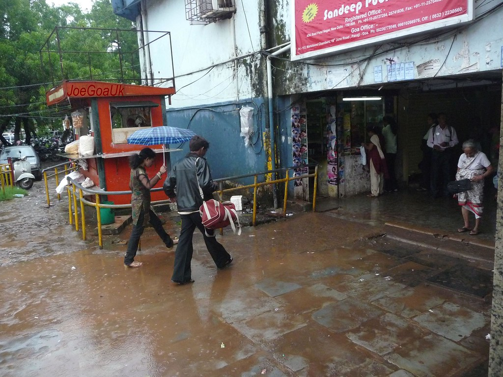 Welcome to KTC Bus Stand, Panjim  Please soak/wash your fe…   Flickr