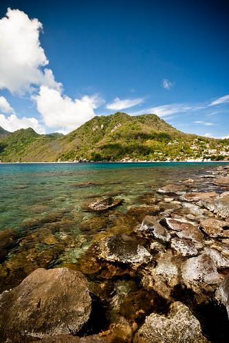 caribbean dominica caribbeansea scottshead