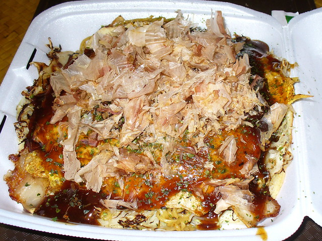 Hiroshima-style Okonomiyaki | Flickr - Photo Sharing!