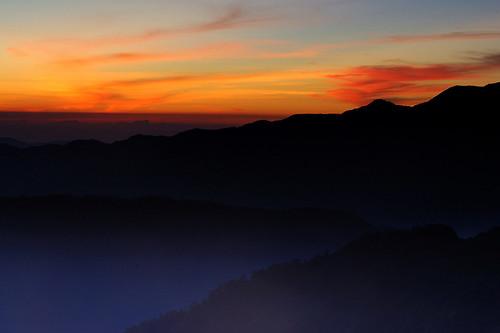 night sunrise taiwan 雪山 369山莊 pwpartlycloudy