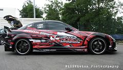 race track(0.0), muscle car(0.0), race car(1.0), automobile(1.0), automotive exterior(1.0), wheel(1.0), vehicle(1.0), performance car(1.0), automotive design(1.0), land vehicle(1.0), mazda rx-8(1.0), supercar(1.0), sports car(1.0),