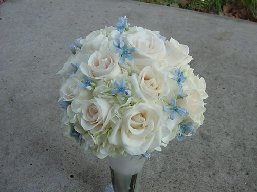 Heathers bridal bouquet