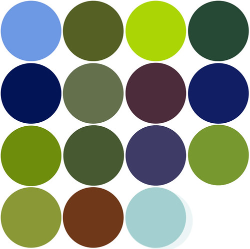 Colour Palette Dots