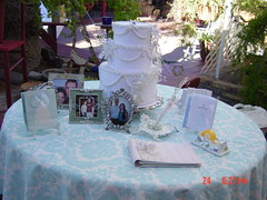 baby shower(0.0), banquet(0.0), party(1.0), wedding cake(1.0),
