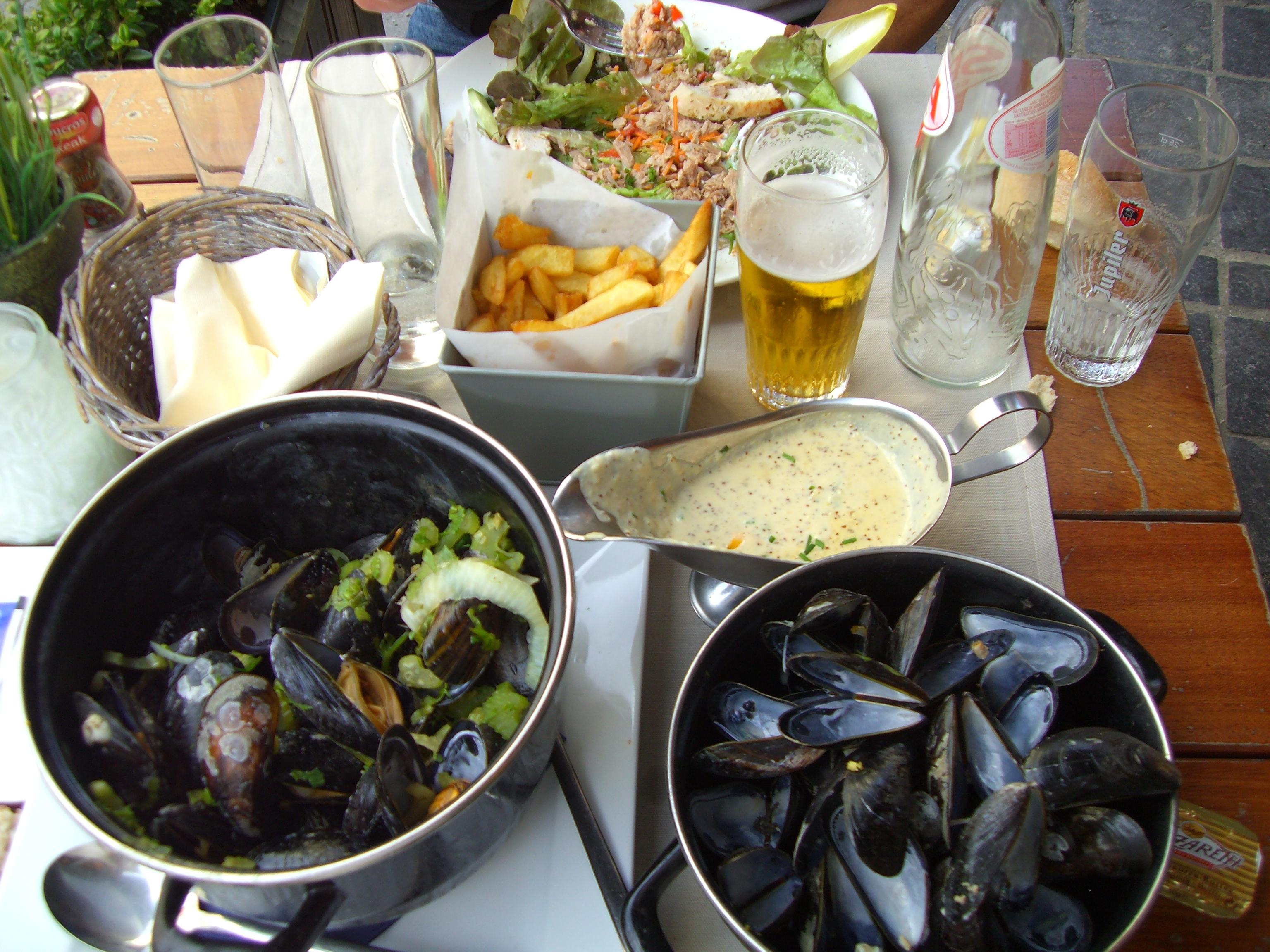 Lunch in Bruges