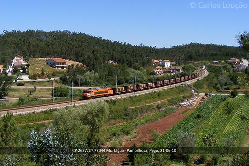 train cp railways 2600 comboio mortágua alsthom arzens pampilhosa sorefame nezcassé