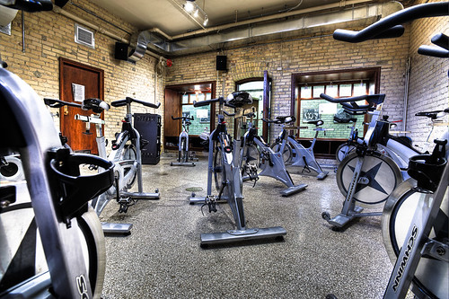Hart House Cycle Fit Room
