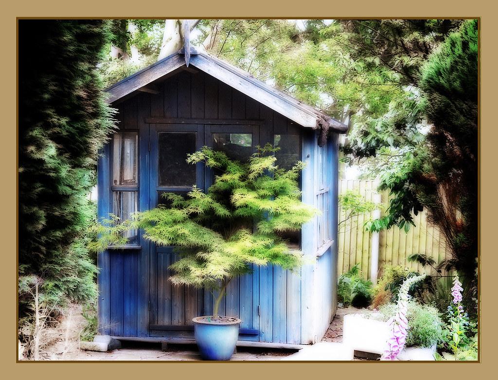 Forgotten summerhouse.