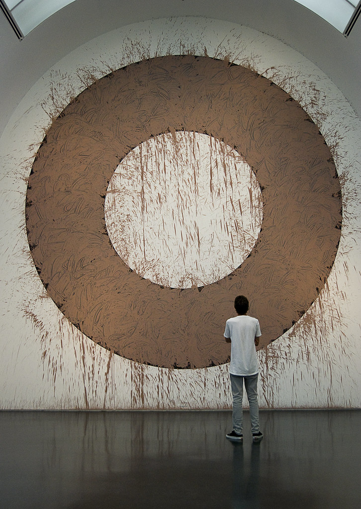 Chicago Mud Circle, Richard Long