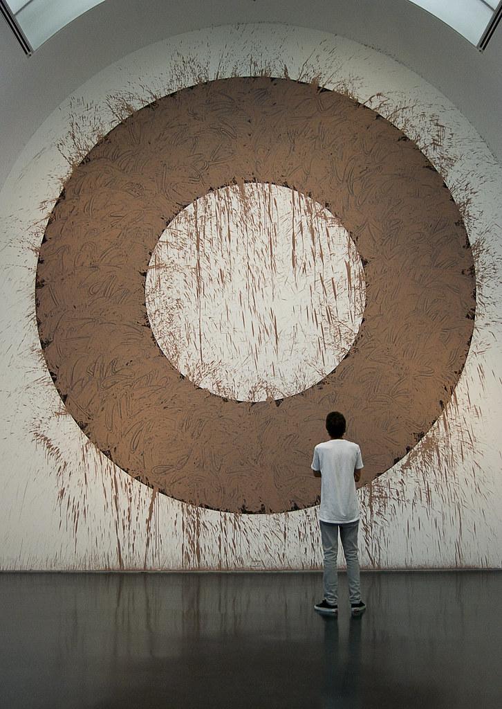 Chicago Mud Circle, Richard Long