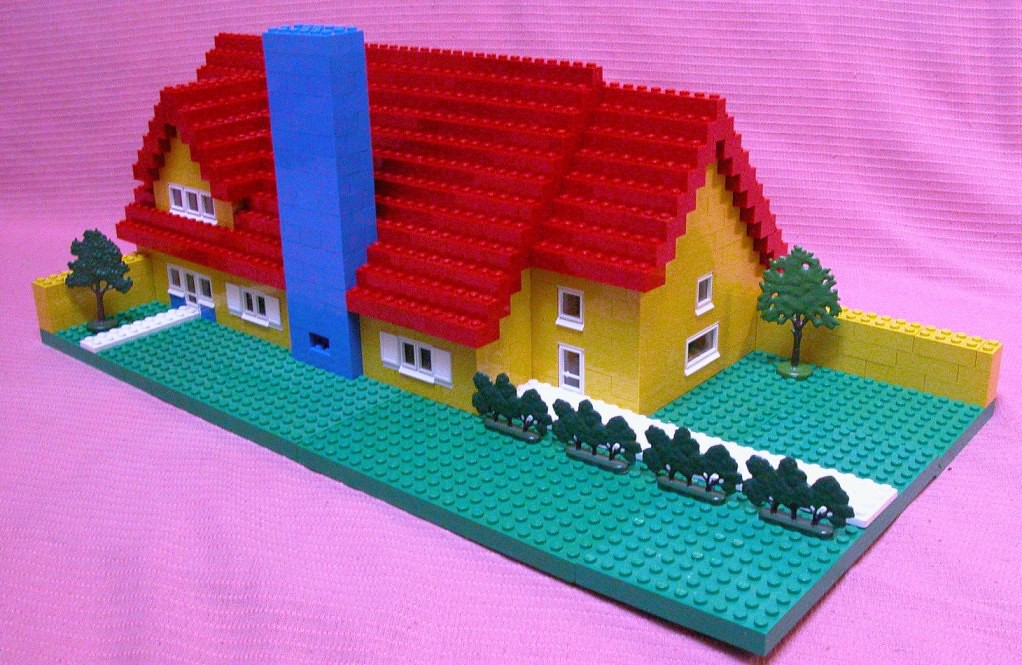 easy lego house instructions