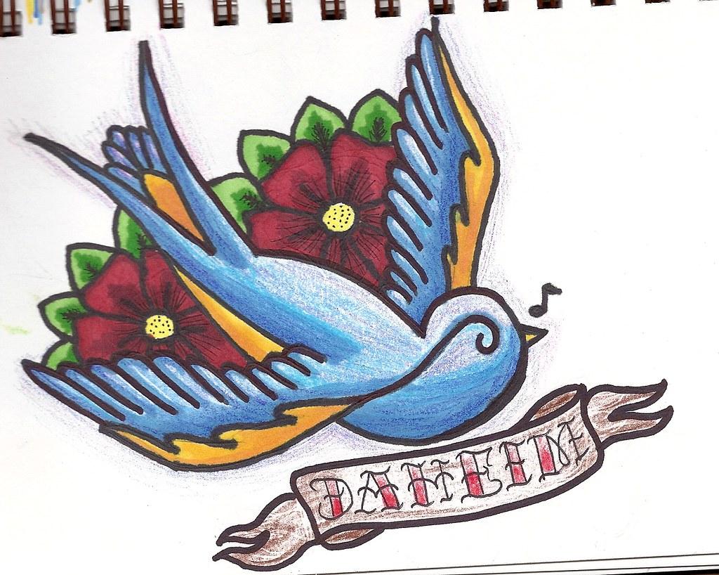 Bluebird Tattoo Sailor