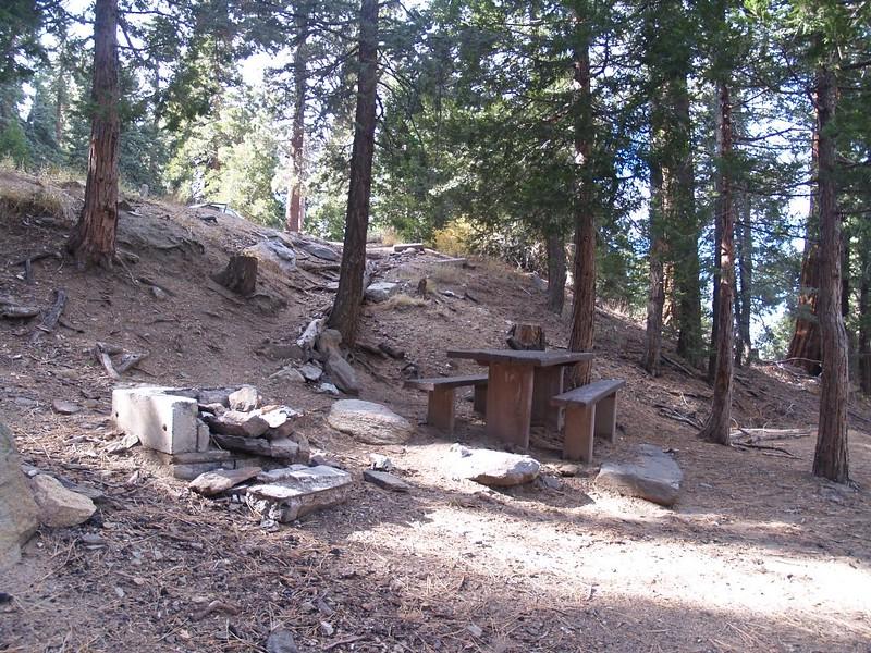 Campsite at Santa Rosa Spring