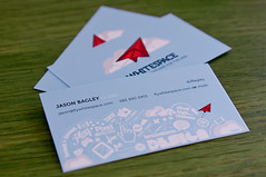 Whitespace business cards
