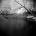 Seneca Creek in Infrared (AKA Coffin Rock from The Blair Witch Project)