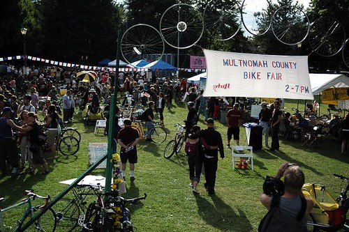 Multnomah County Bike Fair 2007