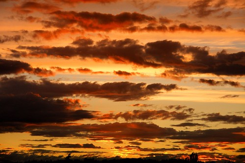 clouds washington sunsets bothell