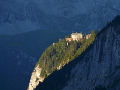 mountains sunrise switzerland topv333 place be fz50 mürren spectacularswiss