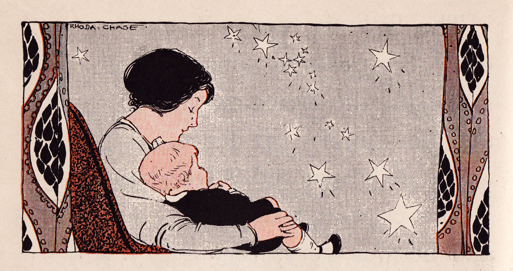 1917 - Mother, child, and stars
