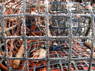 Fishing nets - Alvor Harbour - The Algarve, Portugal