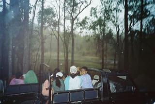 Kanha safari jeep