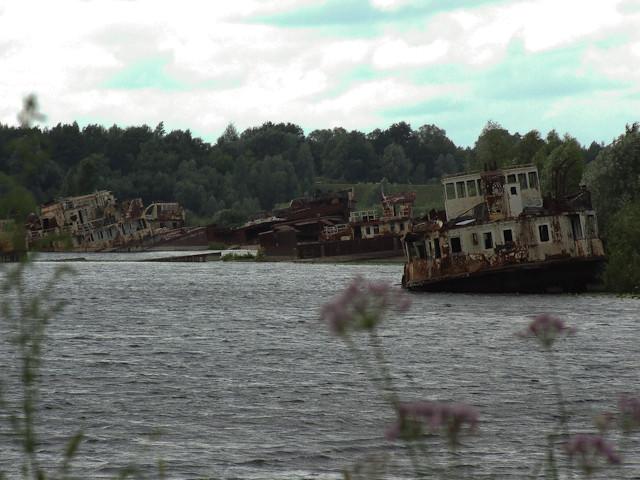 Chernobyl - Shipwrecks  Чернобыль / При́пять